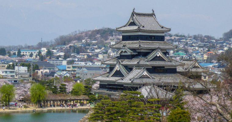 L'histoire des châteaux Japonais
