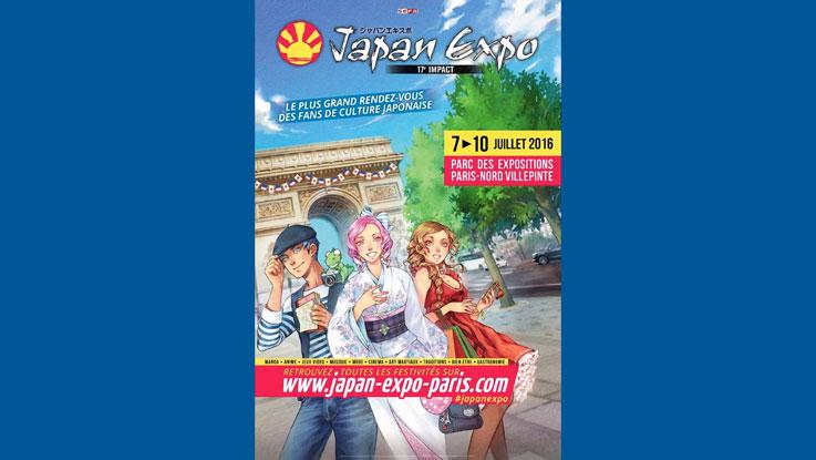Nos 4 jours à Japan Expo 2016