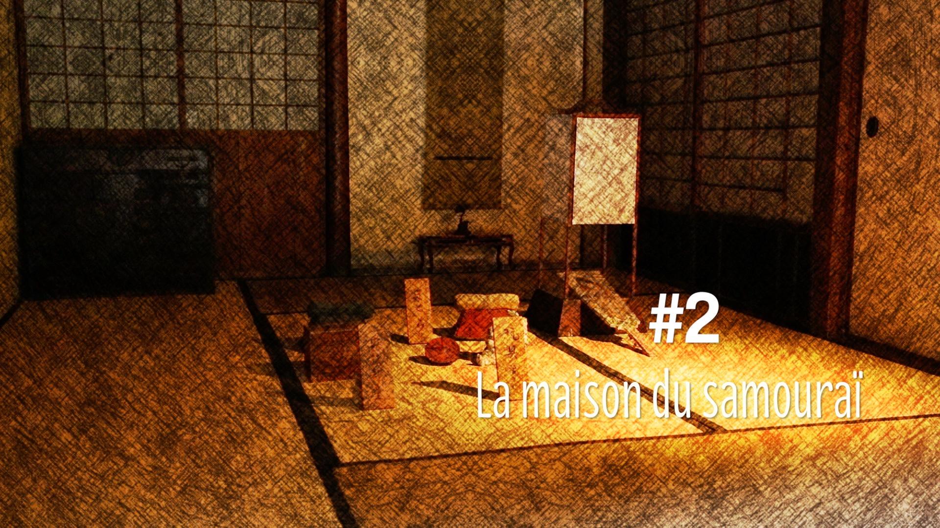 Visite d'une maison de Samourai à Matsue (#2)