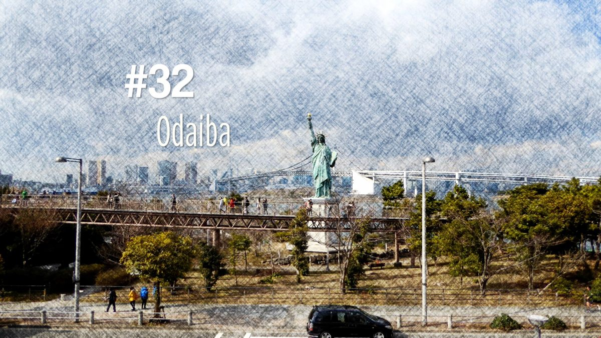 Découverte de l'île d'Odaiba à Tokyo (#32)