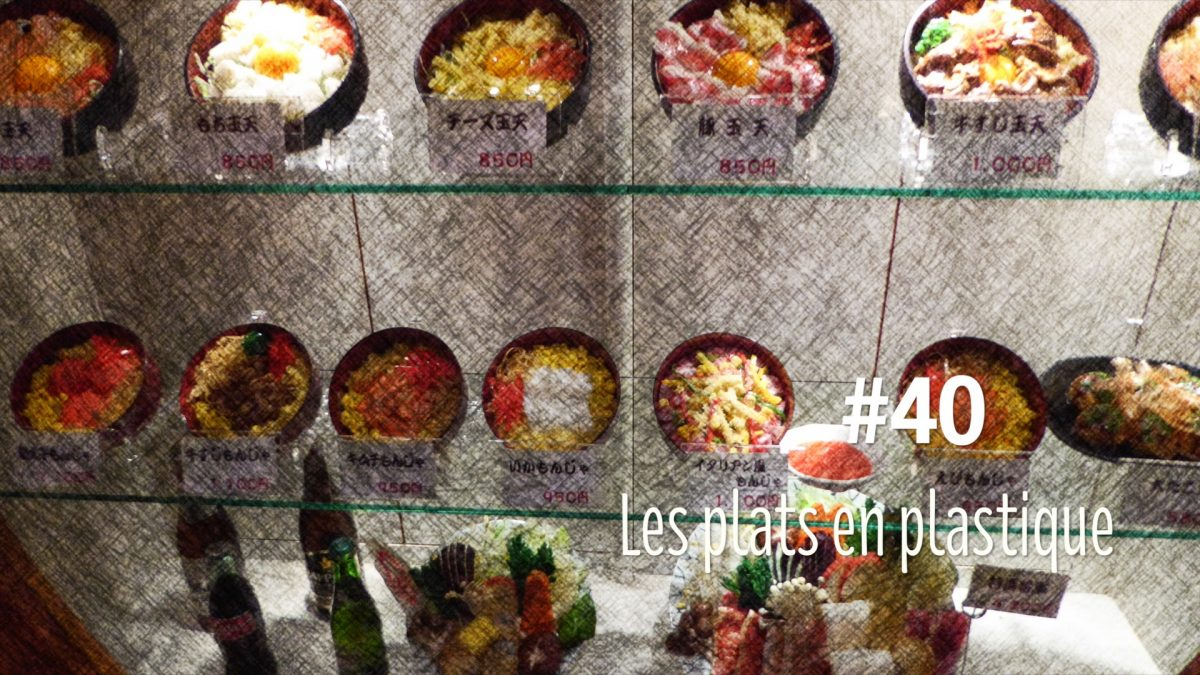Les plats plastiques : les sampuru (#40)