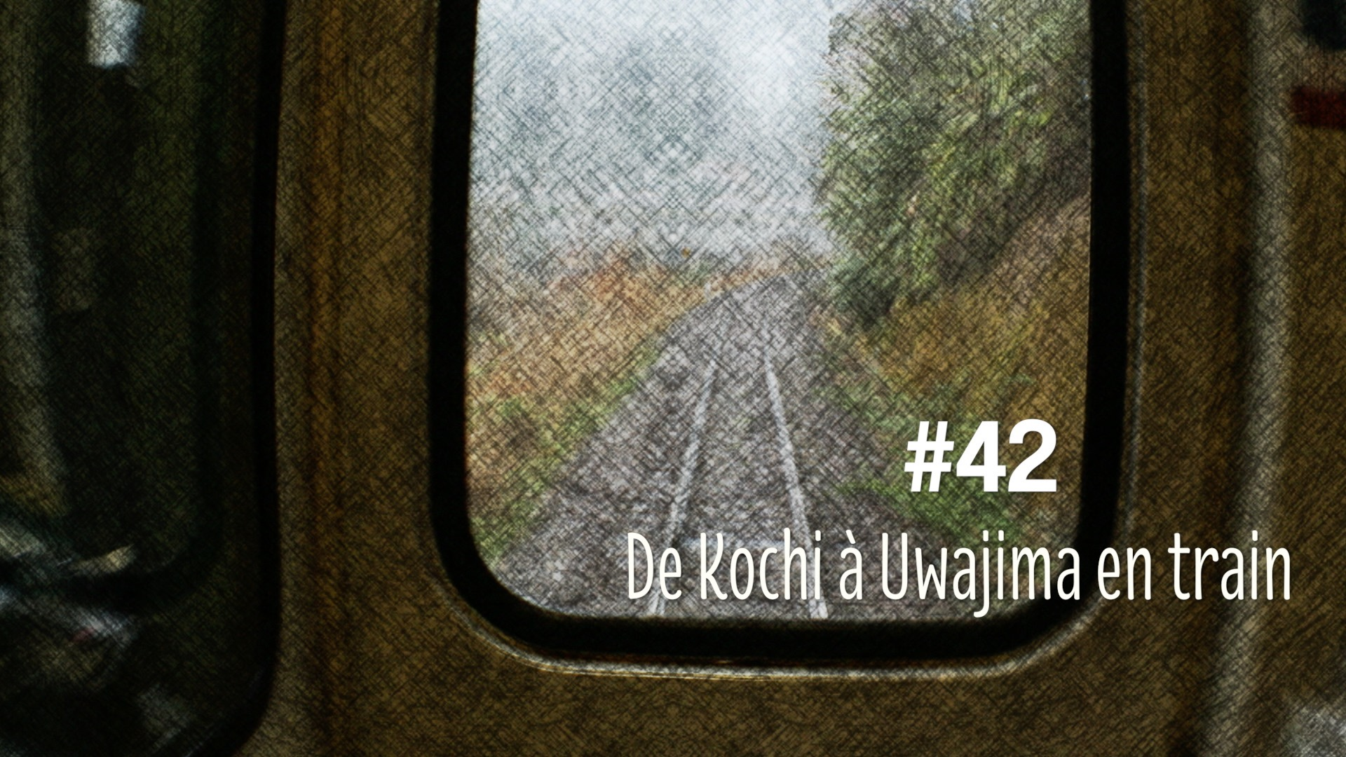 Voyage en train de Kochi à Uwajima (#42)