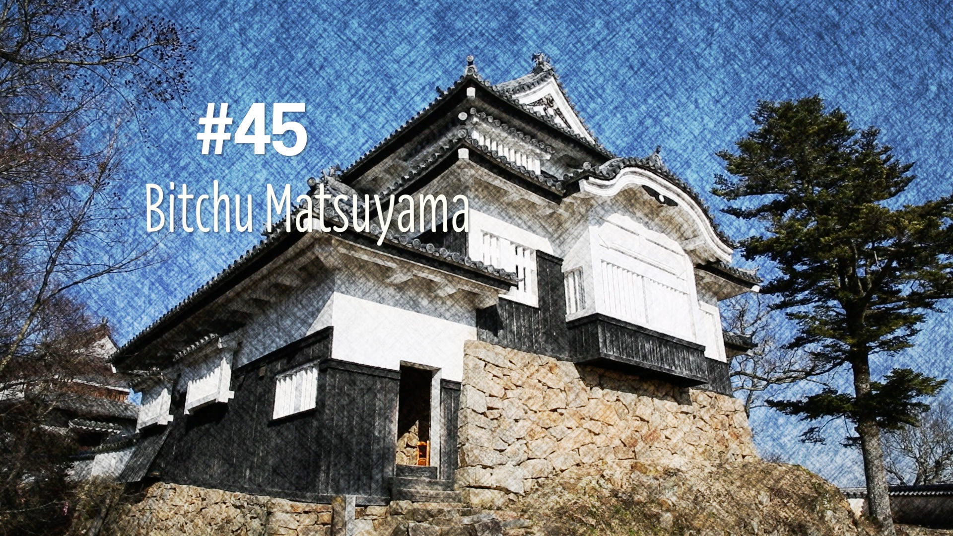 Le château de Bitchu Matsuyama (#45)