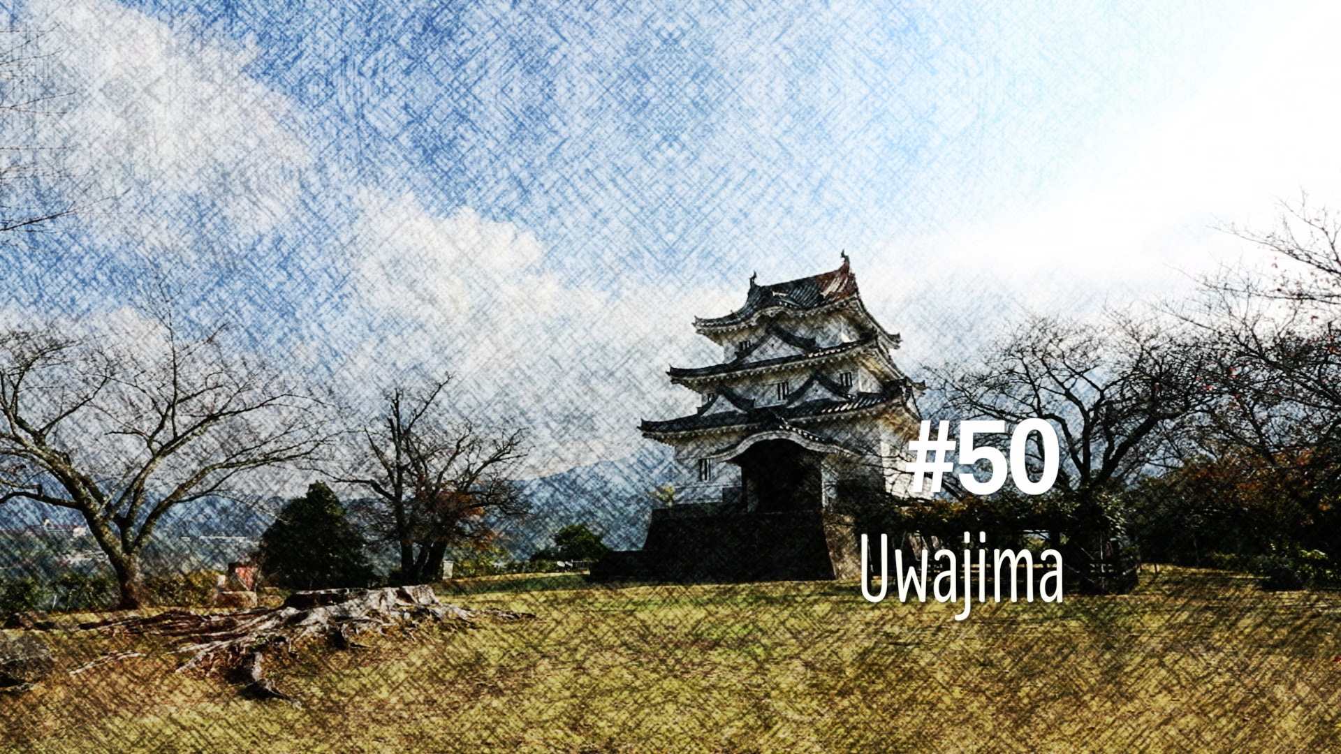 Le château de Uwajima (#50)