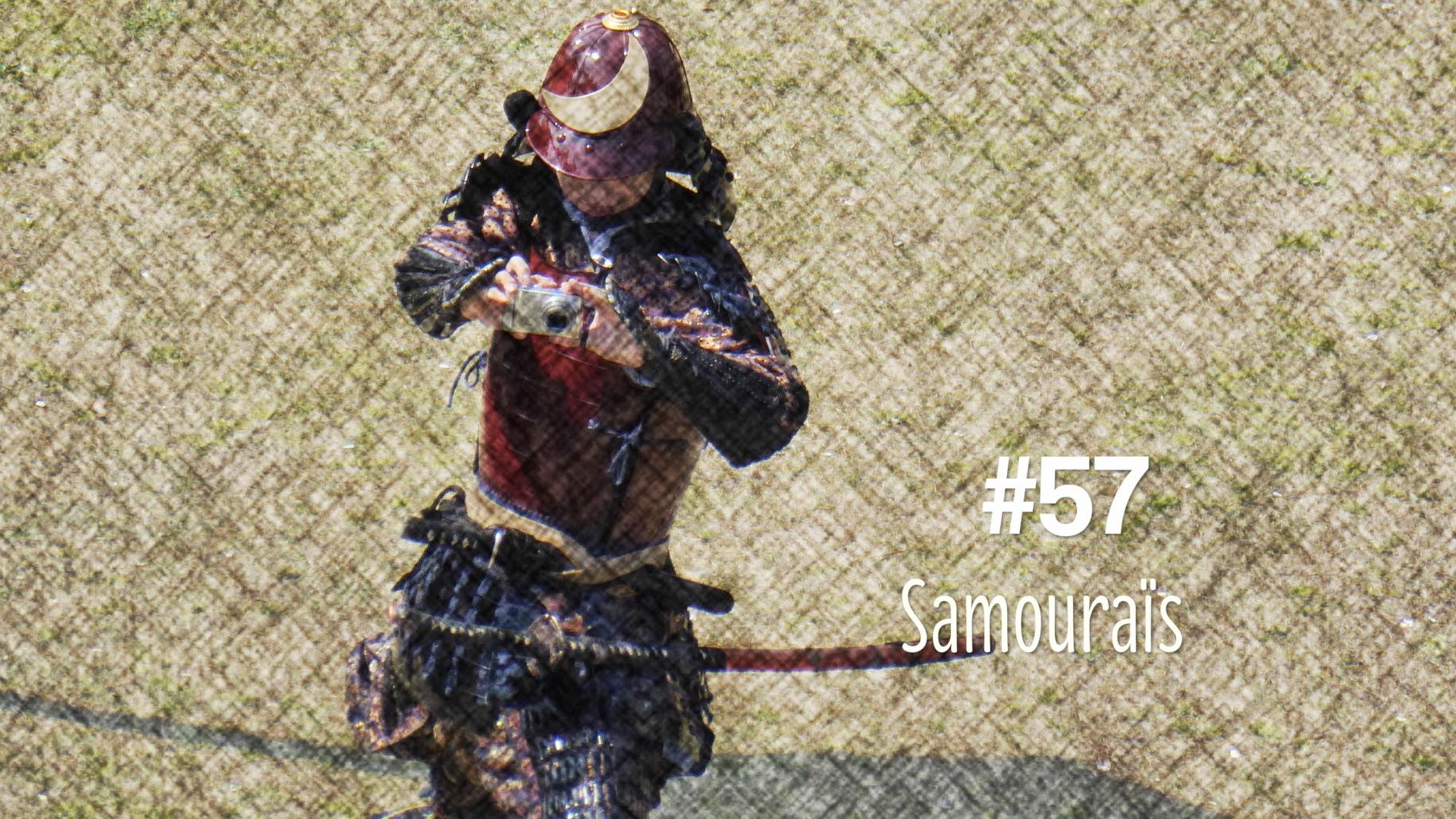 Les personnages en samourai (#57)