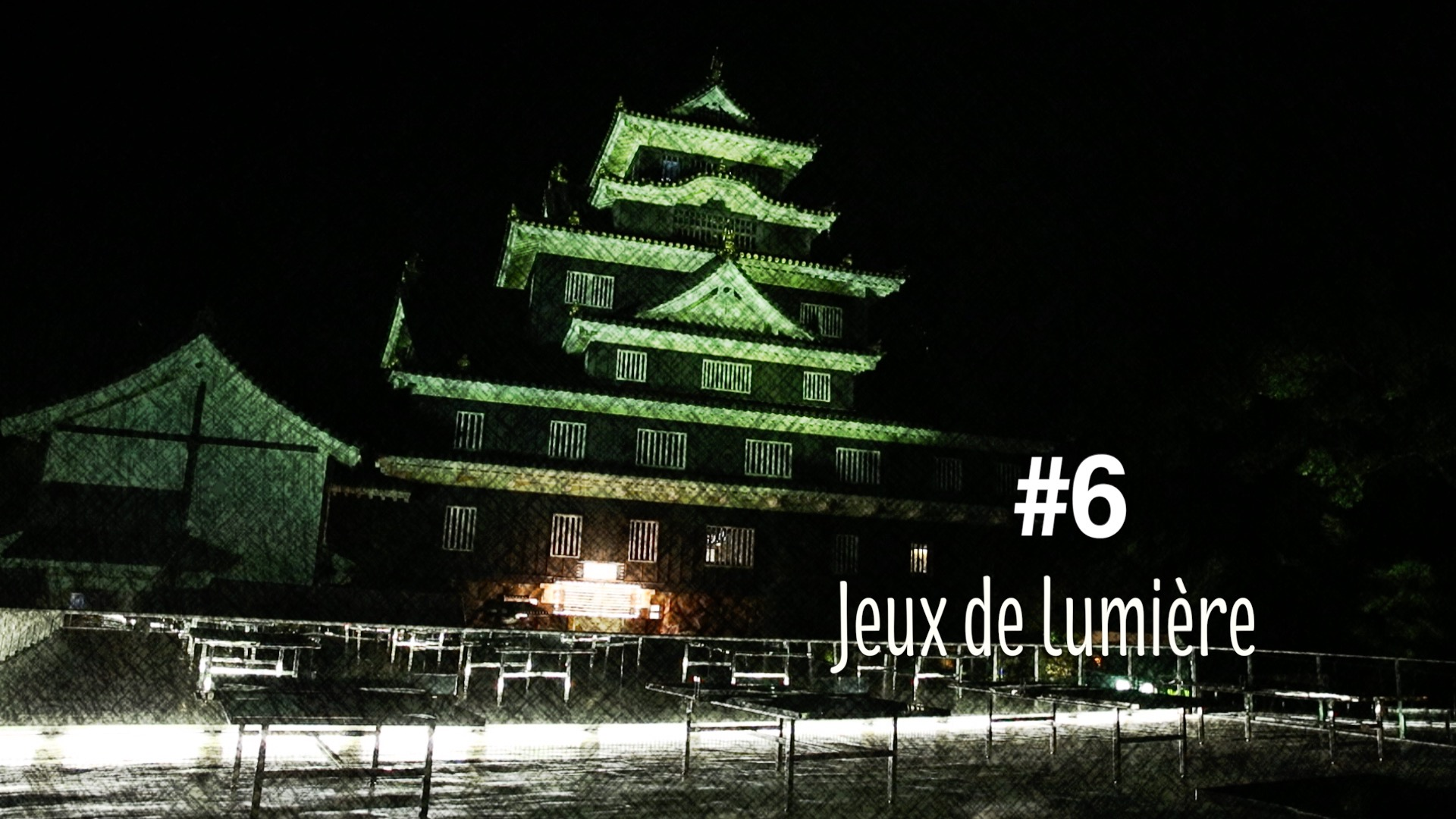 Jeux de lumière au château d'Okayama (#6)