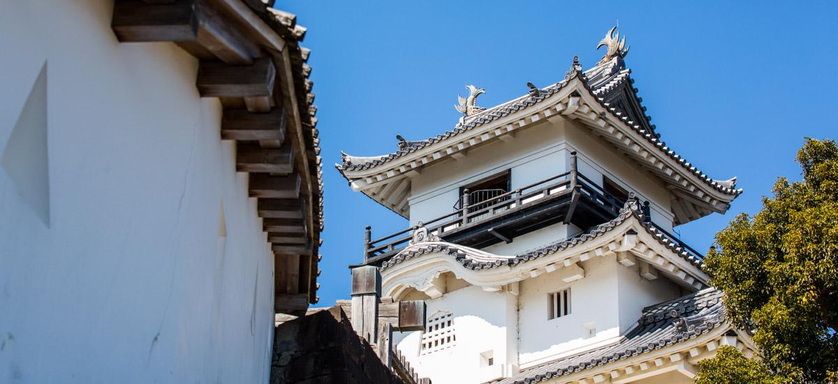 Le château de Kakegawa