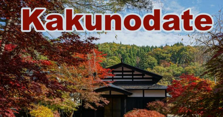 Un jour d'automne à Kakunodate
