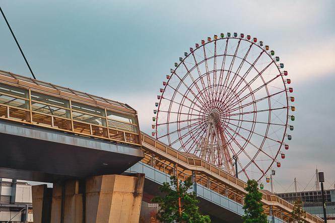 Les grandes roues de Tokyo