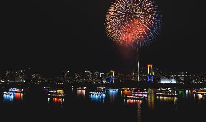 Hanabi, les feux d'artifice
