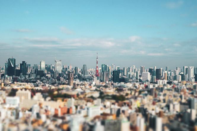 Voir l'espace urbain depuis les hauteurs
