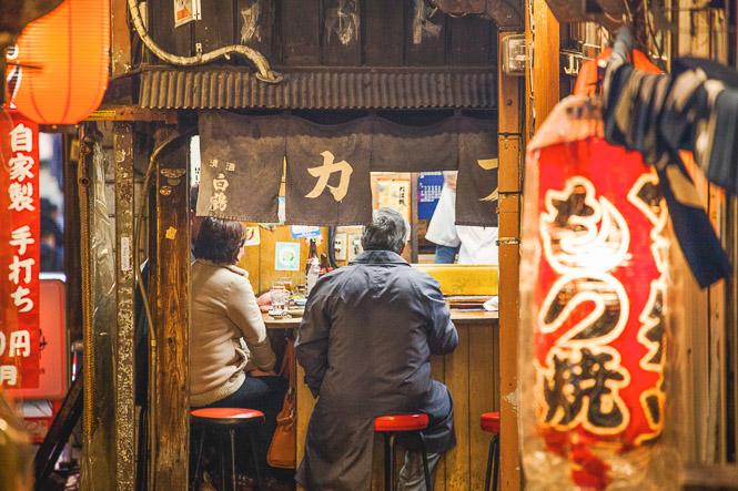 J'adore les Shotengai et les Yokocho