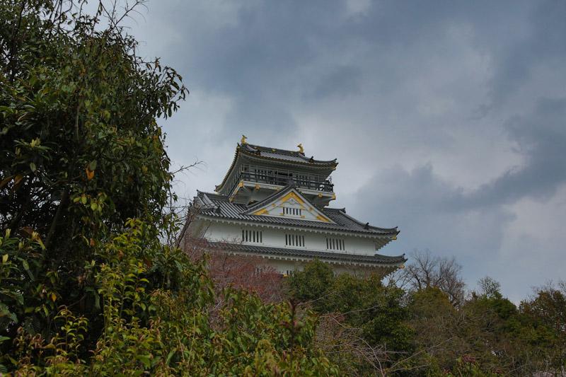 Château de Gifu et son balcon filant
