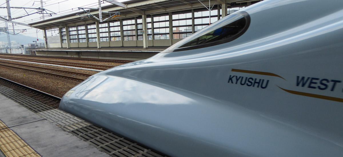 Trains au Japon