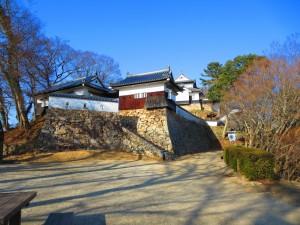 Entrée du chateau de Bitchu Matsuyama