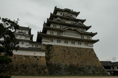Chateaux_Japon_himeji__hirayamajiro