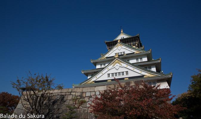 16 chateaux Japonais