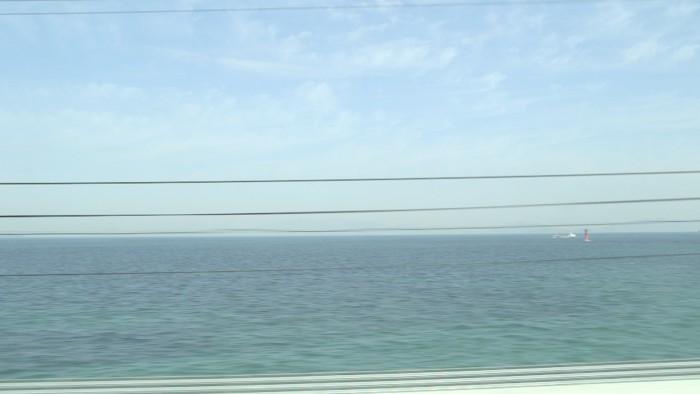 train et mer