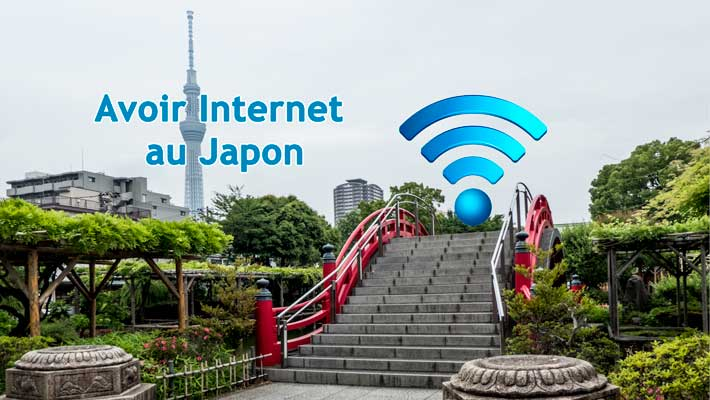 Avoir Internet au Japon