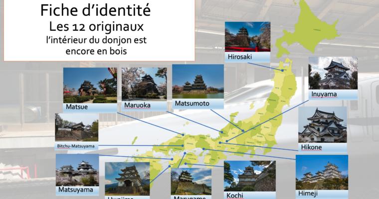 Les 12 châteaux originaux au Japon
