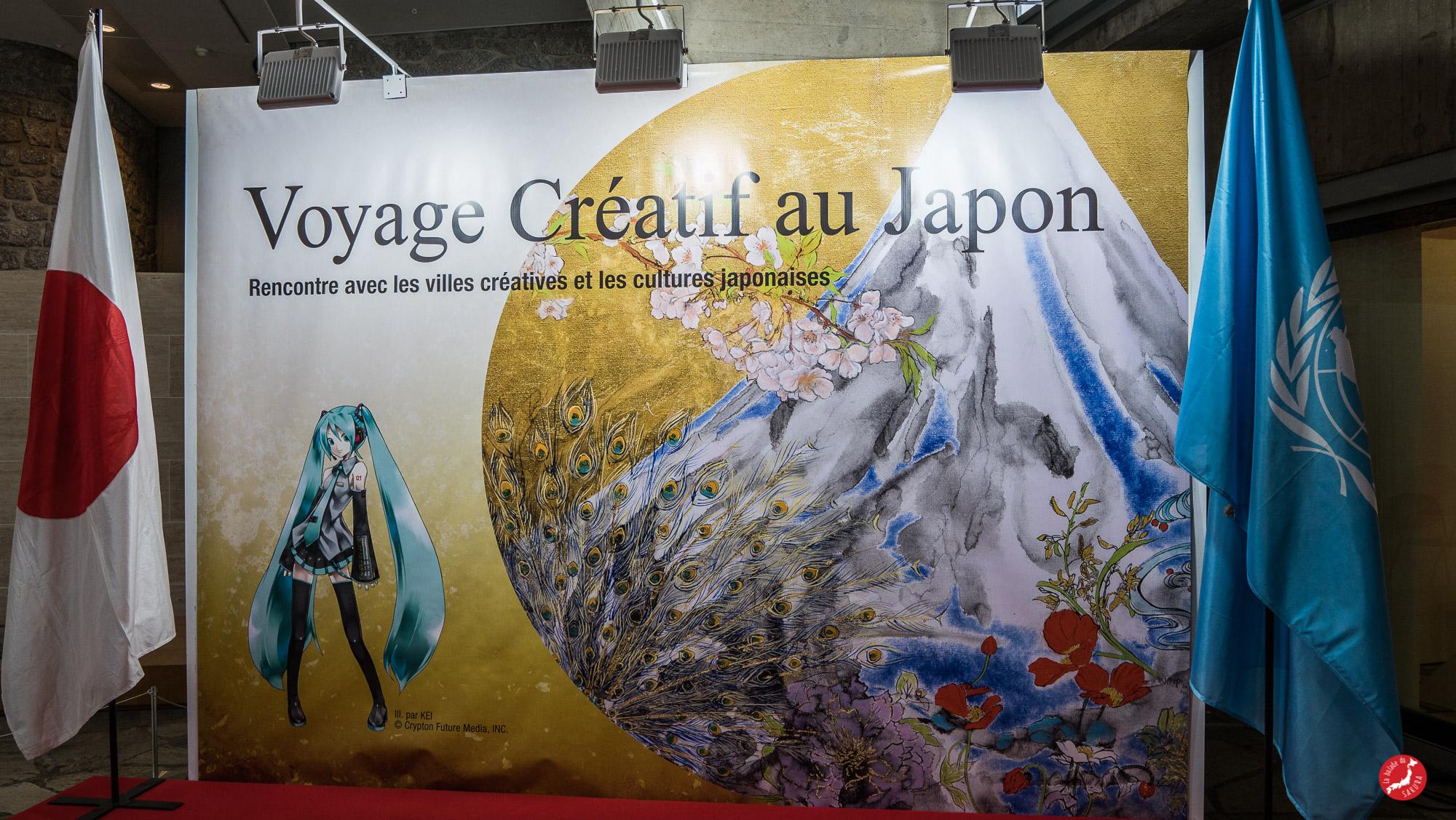 """Exposition """"Voyage Créatif au Japon"""""""