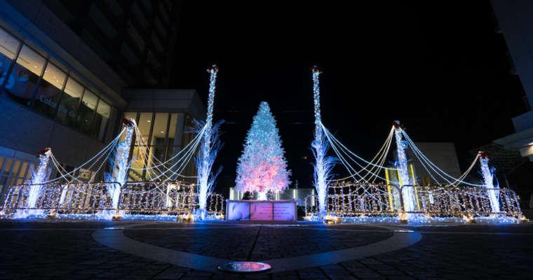Les illuminations de Noël au Japon