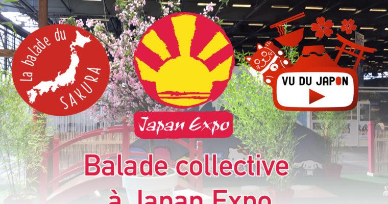 Balade collective à Japan Expo