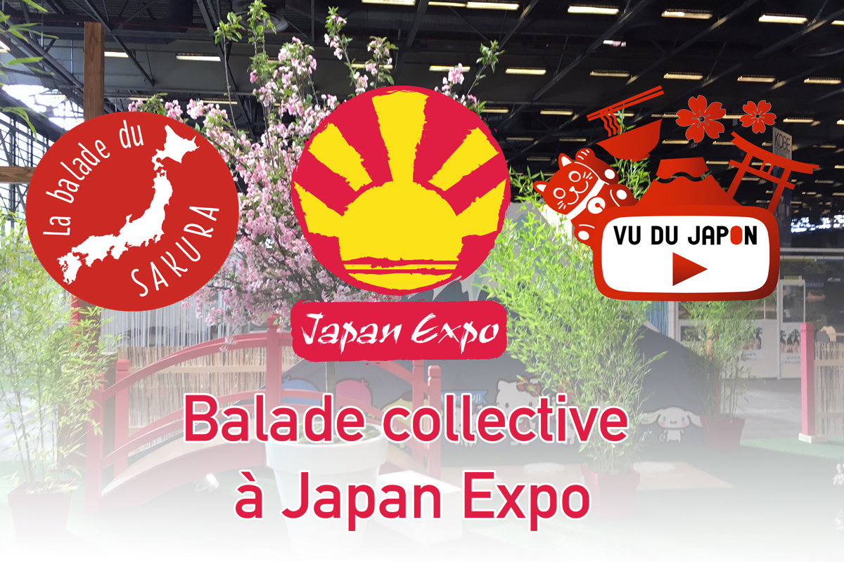 Balade collective à Japan Expo