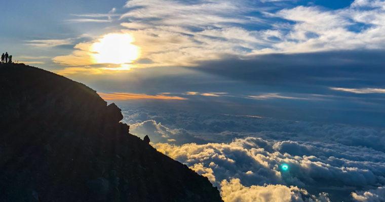 Mont Fuji, un sommet et des cendres