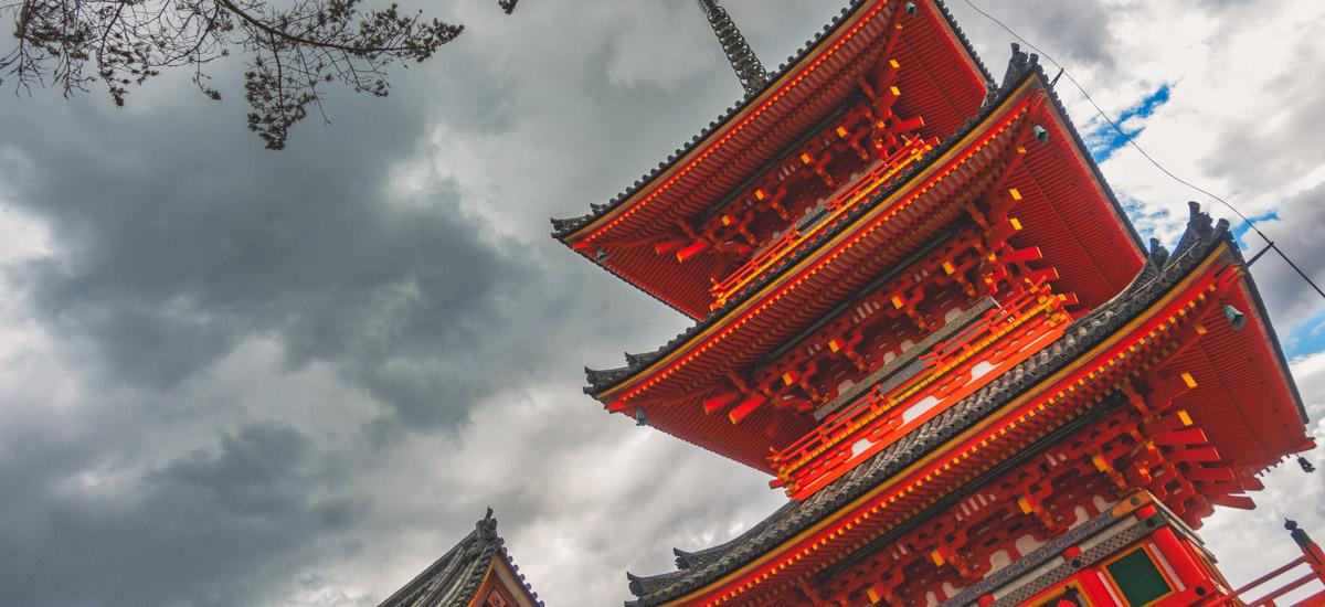 Les pagodes au Japon