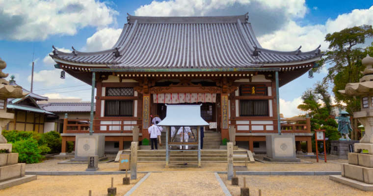 Le temple Nanko-bo sur la route de Shikoku