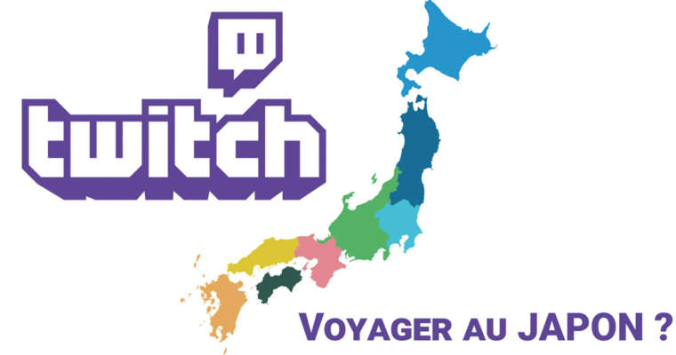 Twitch, une plateforme vidéo pour voyager au Japon ?