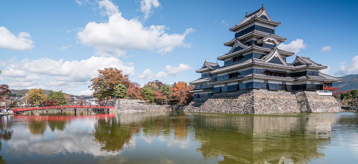 Le château de Matsumoto, le plus beau château du Japon